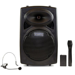 Hisonic HS420 Portable Wireless PA System