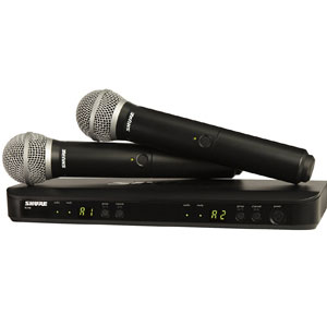 Shure BLX288/PG58 Wireless Microphones