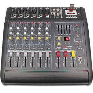 MUSYSIC Complete Professional PA System