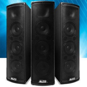 Alto Professional Trouper Bi-Amplified Bluetooth PA System