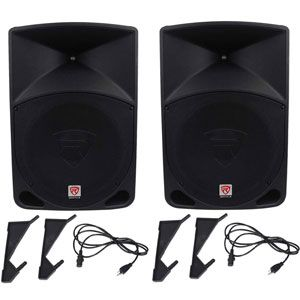 Rockville Power Gig RPG15 PA Speakers