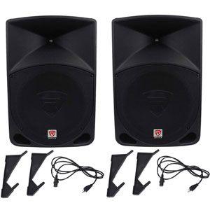 Rockville Power Gig RPG15 PA Speakers