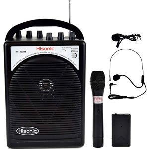 Hisonic HS122BT-HL Portable and Rechargeable PA System