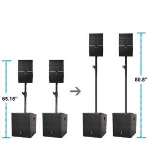 PRORECK Club 3000 PA System